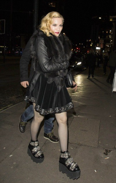 Madonna at Annabel's in London - 26 February 2015 (1)