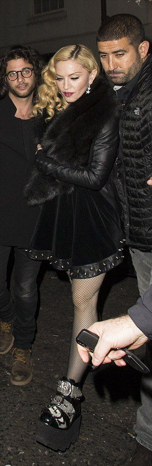 Madonna at Annabel's in London - 26 February 2015 (2)