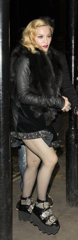 Madonna at Annabel's in London - 26 February 2015 (3)