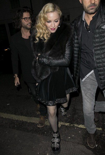 Madonna at Annabel's in London - 26 February 2015 (6)