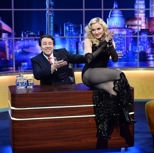 Madonna on The Jonathan Ross Show 03