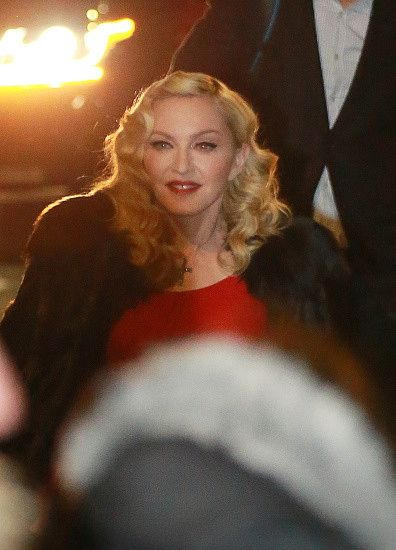Madonna at the Che Tempo Che Fa taping in Milan - 1 March 2015 (2)