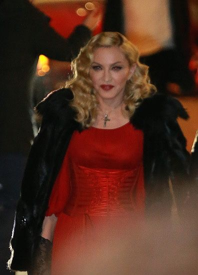 Madonna at the Che Tempo Che Fa taping in Milan - 1 March 2015 (5)