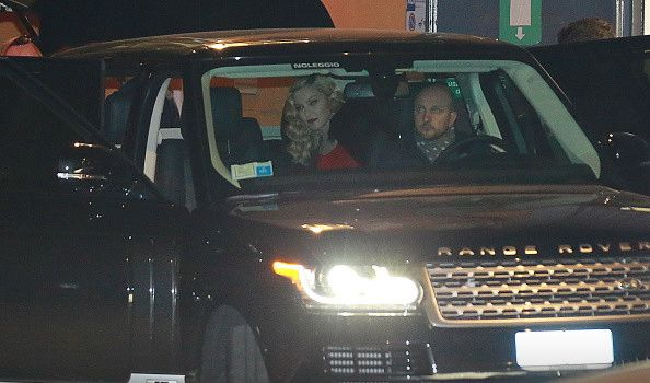 Madonna at the Che Tempo Che Fa taping in Milan - 1 March 2015 (6)