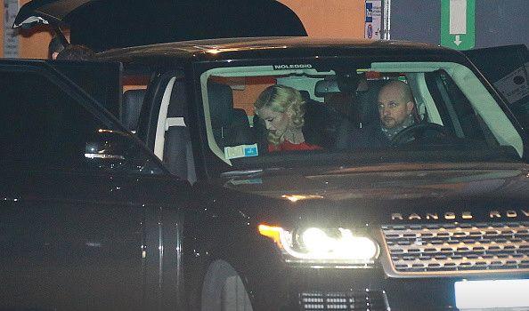 Madonna at the Che Tempo Che Fa taping in Milan - 1 March 2015 (7)