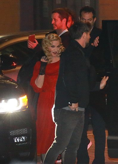 Madonna at the Che Tempo Che Fa taping in Milan - 1 March 2015 (12)