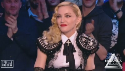 Madonna at Le Grand Journal - 2 March 2015 (1)