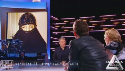 Madonna at Le Grand Journal - 2 March 2015 (4)