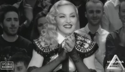Madonna at Le Grand Journal - 2 March 2015 (5)