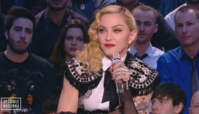 Madonna at Le Grand Journal - 2 March 2015 (7)