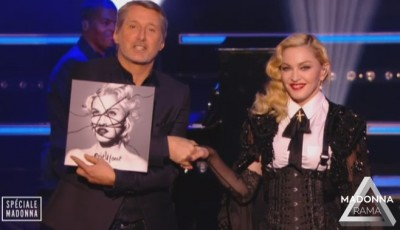 Madonna at Le Grand Journal - 2 March 2015 (10)
