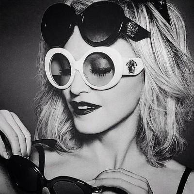 Madonna Versace Eyewear Update Spring Summer 2015