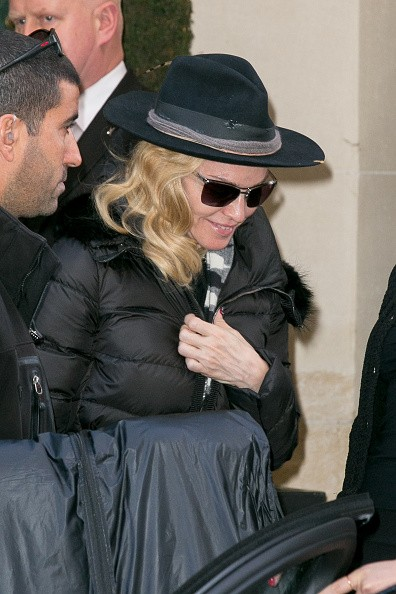 Madonna out and about in Paris - 2 March 2015 (5)
