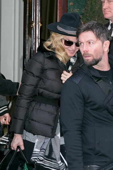Madonna out and about in Paris - 2 March 2015 (7)