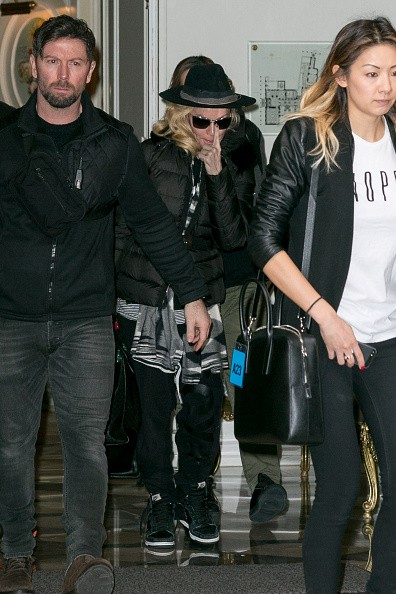 Madonna out and about in Paris - 2 March 2015 (9)