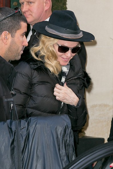 Madonna out and about in Paris - 2 March 2015 (13)