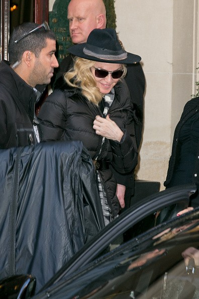 Madonna out and about in Paris - 2 March 2015 (14)