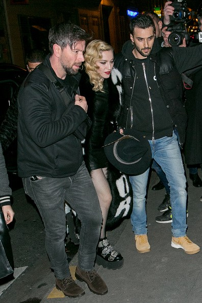 Madonna out and about in Paris - 2 March 2015 (15)
