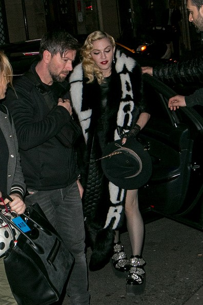 Madonna out and about in Paris - 2 March 2015 (17)