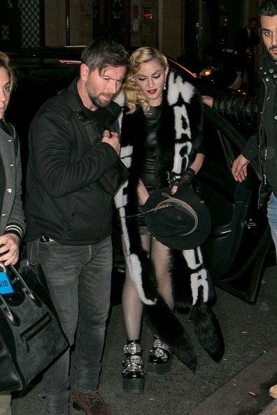 Madonna out and about in Paris - 2 March 2015 (19)