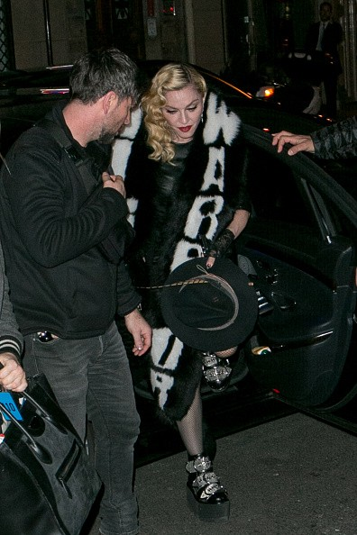 Madonna out and about in Paris - 2 March 2015 (20)