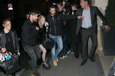 Madonna out and about in Paris - 2 March 2015 (22)