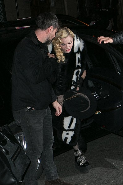 Madonna out and about in Paris - 2 March 2015 (23)