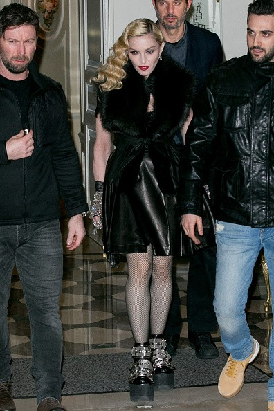 Madonna out and about in Paris - 2 March 2015 (25)
