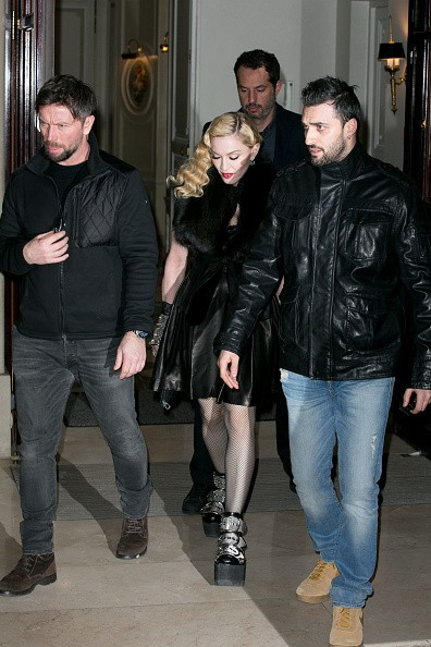 Madonna out and about in Paris - 2 March 2015 (26)