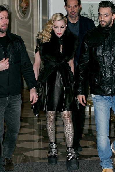 Madonna out and about in Paris - 2 March 2015 (27)