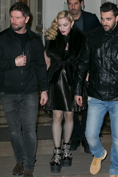 Madonna out and about in Paris - 2 March 2015 (28)