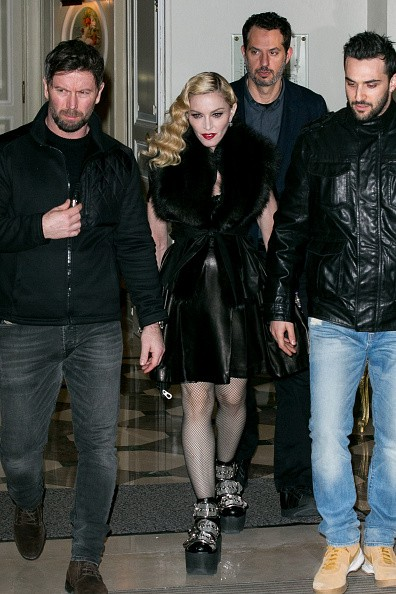 Madonna out and about in Paris - 2 March 2015 (30)