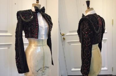 Madonna custom Nicolas Jebran matador inspired jacket