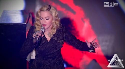 Madonna on Che Tempo Che Fa (1)