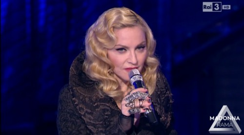 Madonna on Che Tempo Che Fa (3)