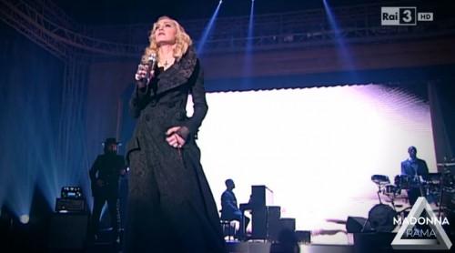Madonna on Che Tempo Che Fa (5)
