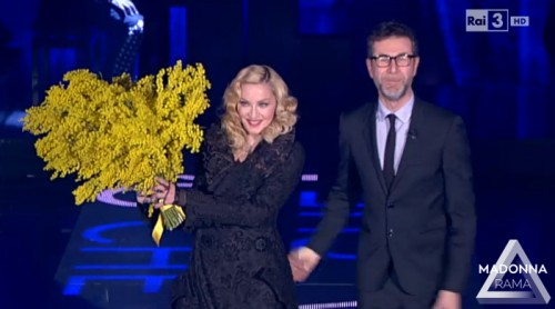 Madonna on Che Tempo Che Fa (6)