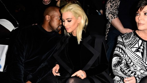 Kim Kardashian inspired by Madonna for her new hair colour