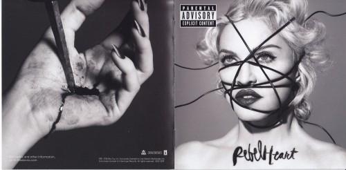 Madonna Rebel Heart Japanese Version - Scans (1)