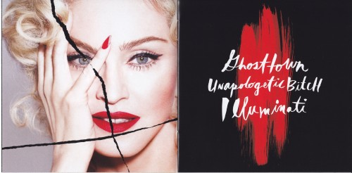 Madonna Rebel Heart Japanese Version - Scans (3)