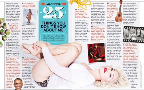 Us Weekly - The Complete 25 Things You Don't Know About Madonna