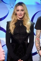 Madonna attends TIDAL announcement in New York (1)
