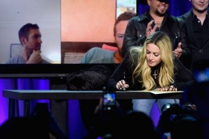 Madonna attends TIDAL announcement in New York (3)
