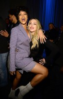 Madonna and Rihanna at the TIDAL press conference (2)