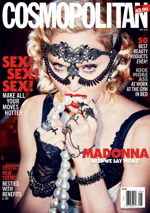 Madonna by Ellen von Unwerth for Cosmopolitan magazine