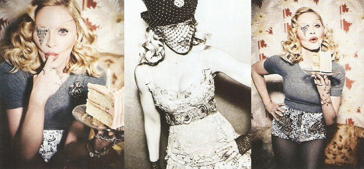 Madonna by Ellen von Unwerth for Cosmopolitan - Turkey Edition - New pictures