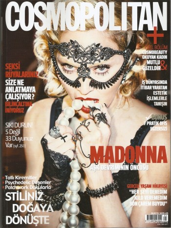 Madonna by Ellen von Unwerth for Cosmopolitan - Turkey Edition (29)