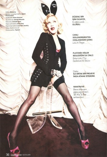 Madonna by Ellen von Unwerth for Cosmopolitan - Turkey Edition (32)