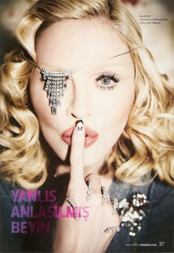 Madonna by Ellen von Unwerth for Cosmopolitan - Turkey Edition (33)