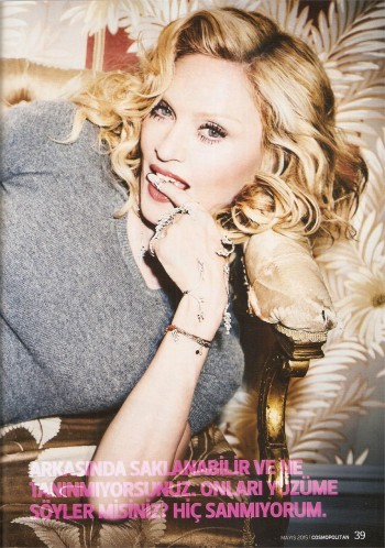 Madonna by Ellen von Unwerth for Cosmopolitan - Turkey Edition (35)